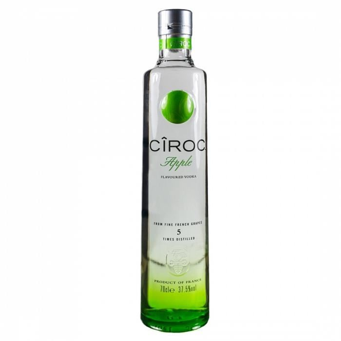 vodka-ciroc-pomme www.luxfood-shop.fr