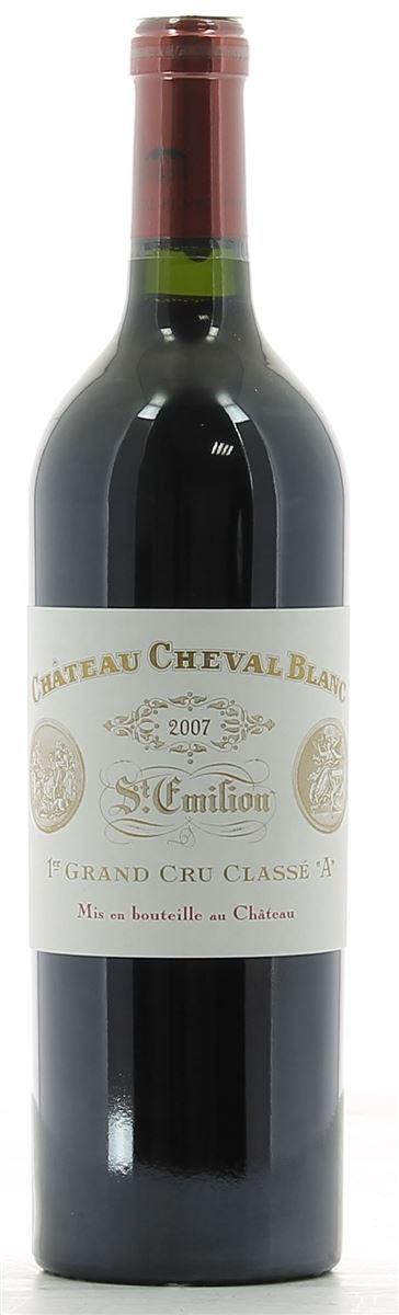 Château Cheval Blanc Saint-Emilion Grand Cru AOP Rouge 2007