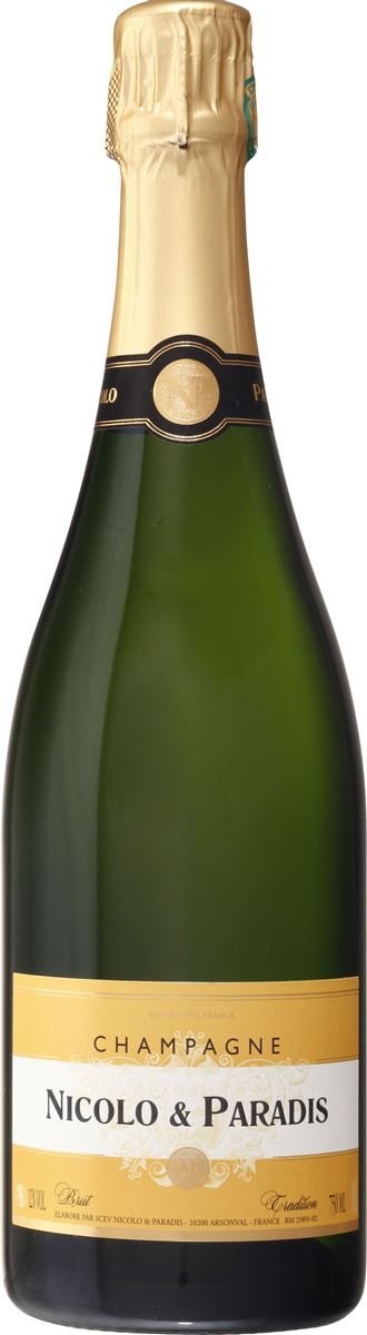 Champagne Nicolo & Paradis, Brut Tradition, Champagne AOP • Blanc • x 6 bts