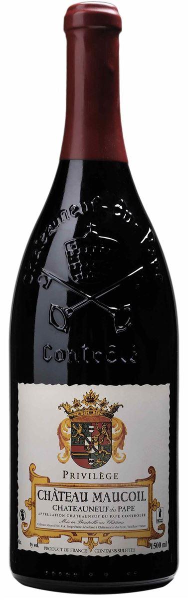 Privilège de Maucoil - Château Neuf du pape AOP rouge 2013 x6bts