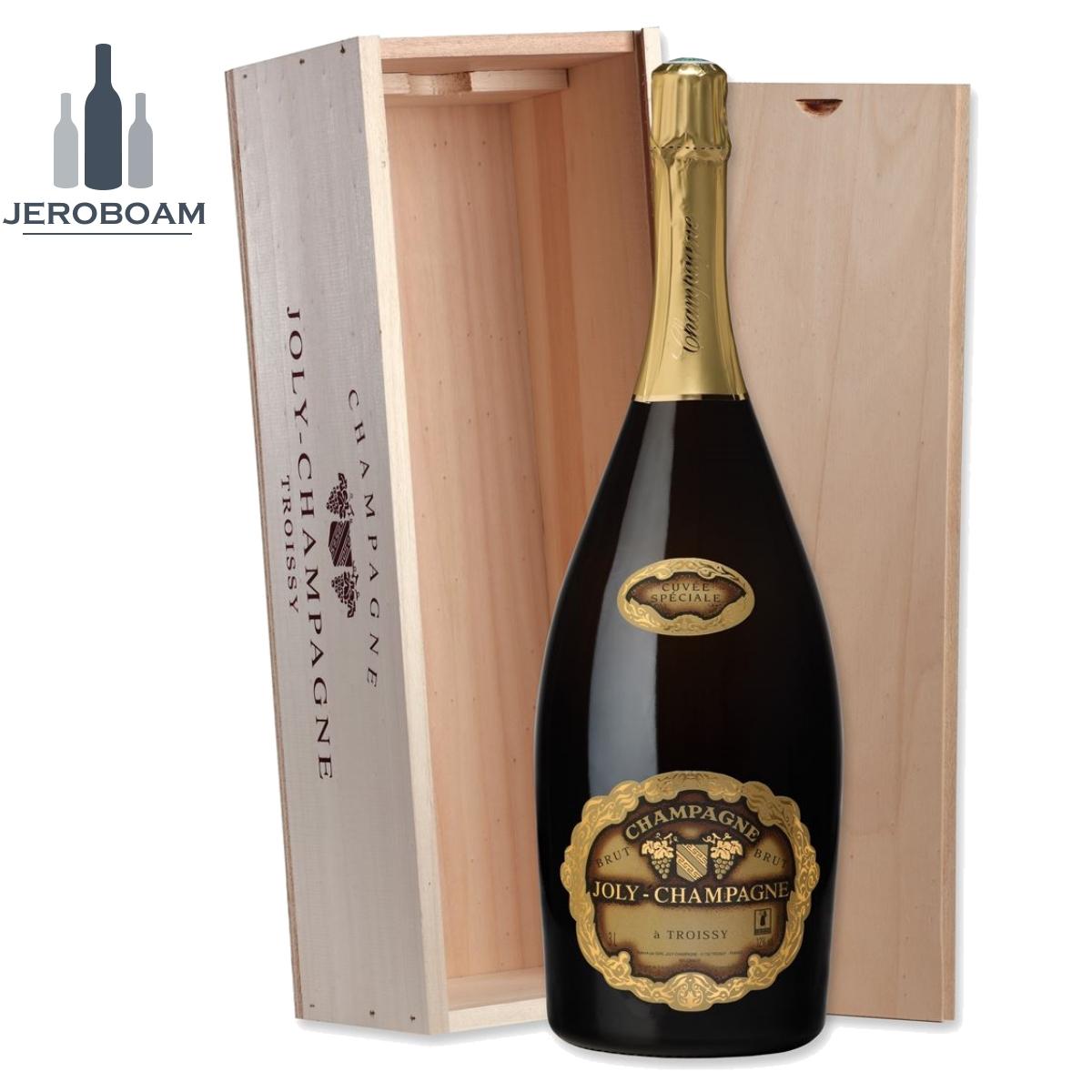 Champagne Joly Blanc Cuvée Spéciale AOP - Jéroboam