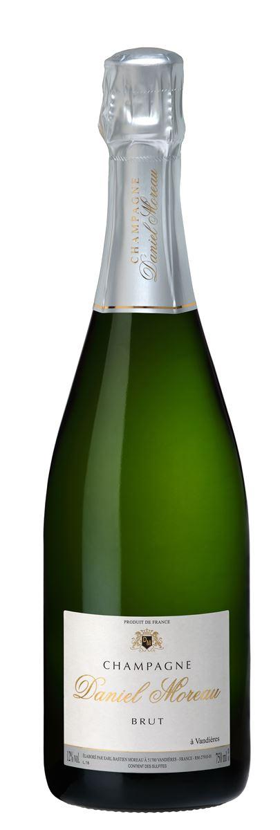 Champagne Daniel Moreau AOP Brut Blanc Carton de 6 Bts