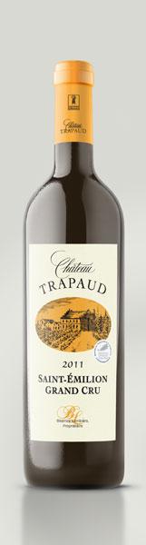 Château Trapaud Saint-Emilion grand cru AOP Rouge 2011 x 6 bts