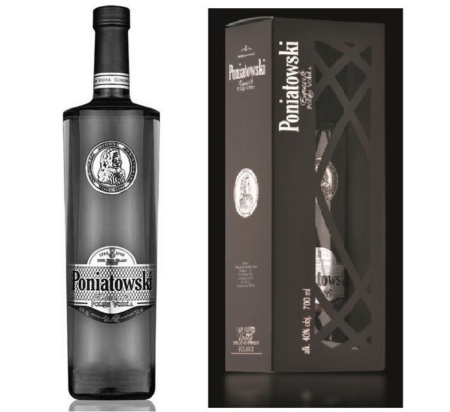 Coffret cadeau Vodka Poniatowski