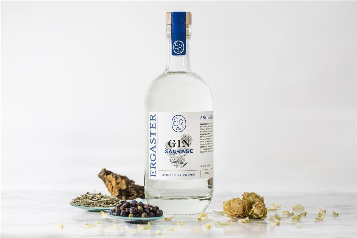 GYN Ergaster ASCENDANCE Gin de montage frais et floral