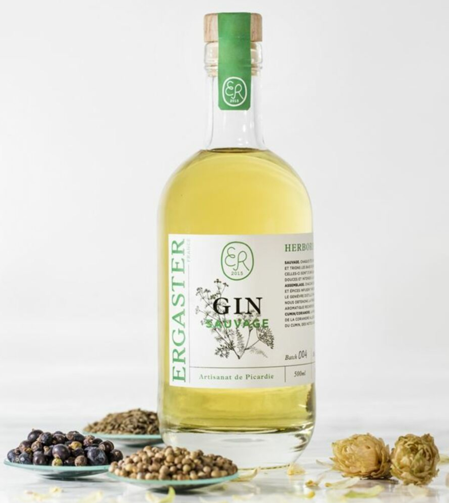 Gin HERBORISTE ambré ERGASTER