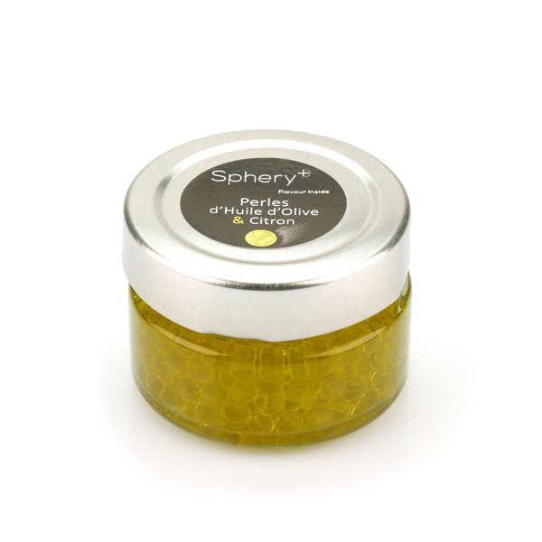 Perle d\' huile d\' olive aromatisée citron