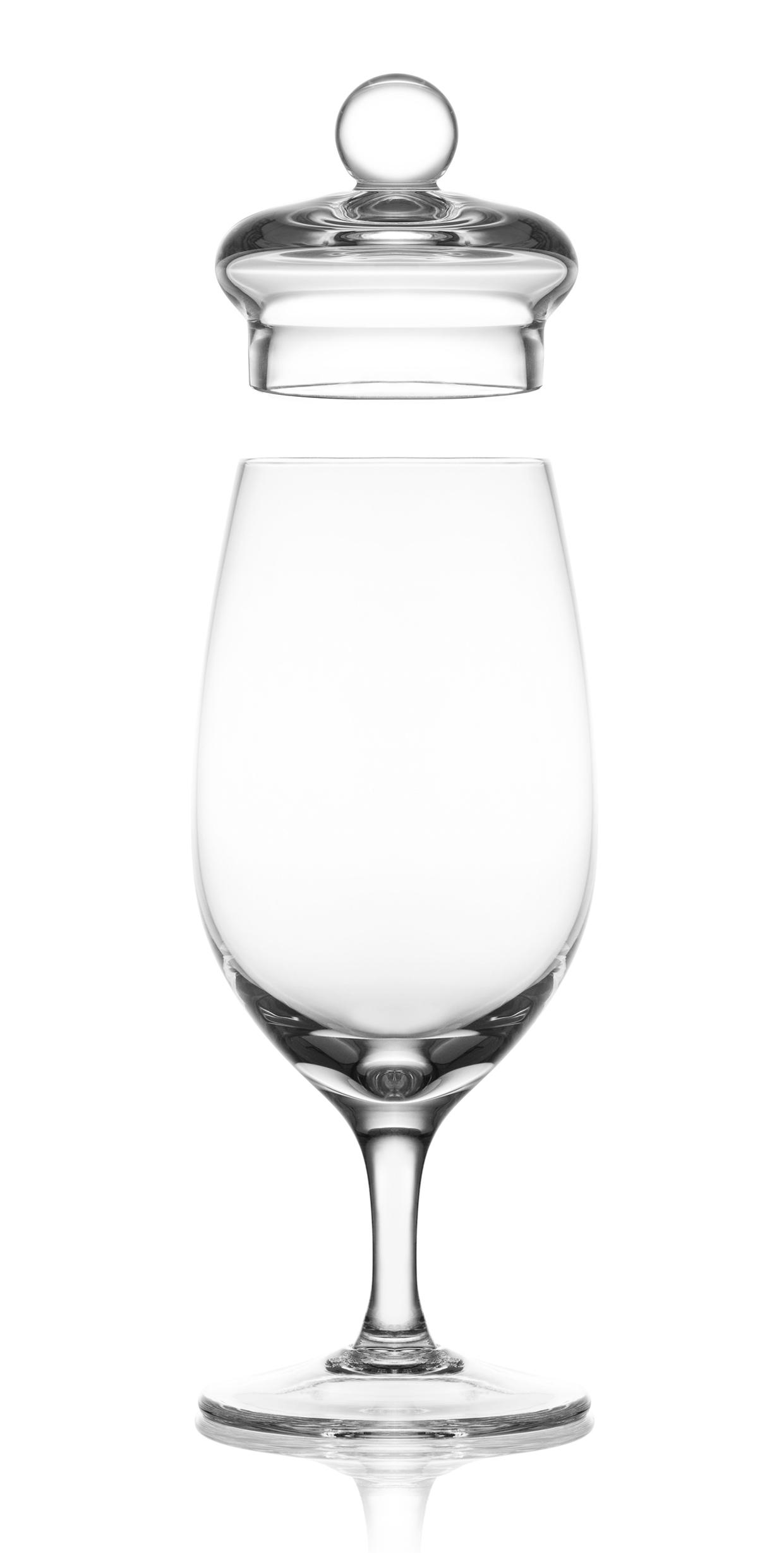 Amber Glass modèle G200 Verre de dégustation fabriqué à la main