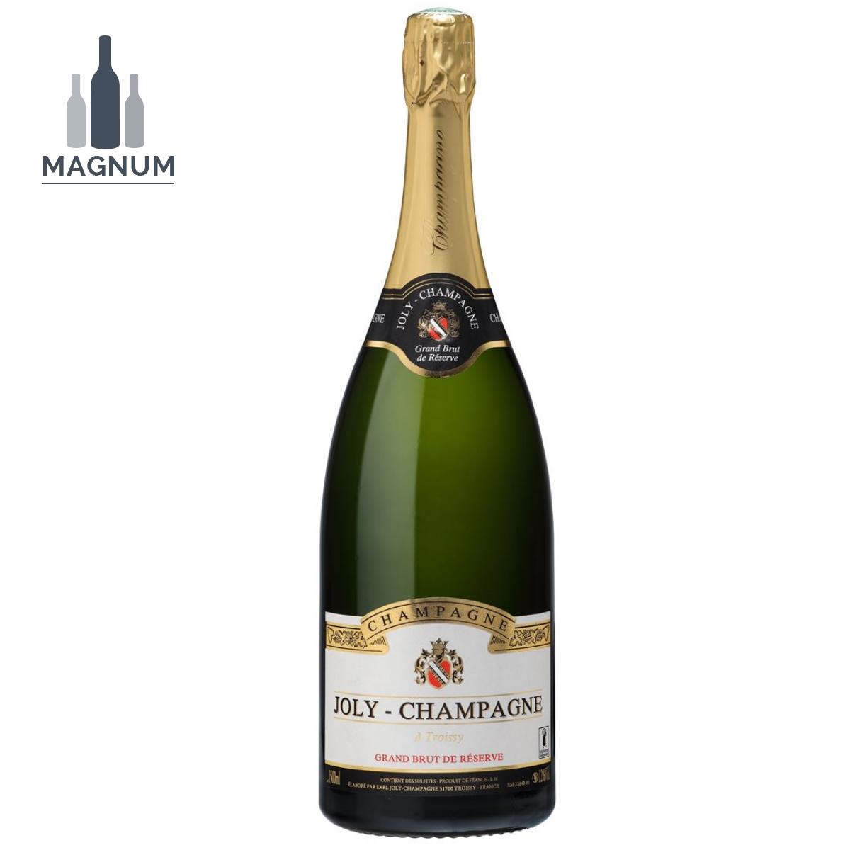 Magnum Champagne Joly Grand Brut de réserve AOP blanc