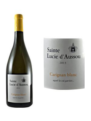 Domaine Sainte Lucie D\' Aussou Carignan Blanc - carton de 6 bouteilles