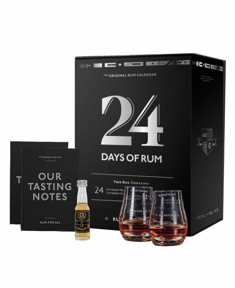 Box de dégustation du Rhum - 24 Day of RUM - 2 verres