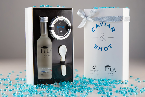 Coffret Caviar & Shot Vodka