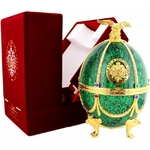 imperial-collection-vodka-faberge-egg-green www.luxfood-shop.fr