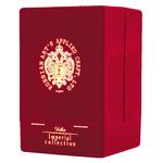 Etui velours lie de vin pour vodka Oeuf Fabergé www.luxfood-shop.fr