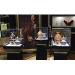 Présentation Oeuf Fabergé dans galerie www.luxfood.fr