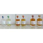 Pack découverte Mignonnettes Whisky Gin Pur Malt Ergaster www.luxfood-shop.fr