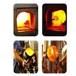 Fabrication des verres AmberGlass fait à la main www.luxfood-shop.fr