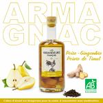Armagnac Bio-Poire-Gingembre-Poivre-Timut-Les-Arrangeurs-Français-www.luxfood-shop.fr