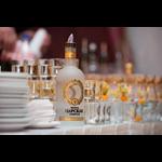 vodka-tsarskaya-Gold avec shooters www.luxfood-shop.fr