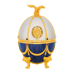 Vodka Imperial Collection Oeuf Fabergé Eggs Faberge Perle et Saphir www.luxfood-shop.fr