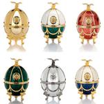 Vodka Impérial Collection Ladoga Eggs Oeuf Fabergé Art's www.luxfood-shop.fr