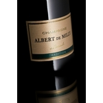 Champagne Albert de Milly Tradition étiquette www.luxfood-shop.fr