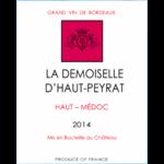 La demoiselle D haut-Peyrat étiquette www.luxfood-shop.fr