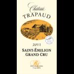 étiquette Chateau Trapaud 2011