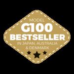logo best seller modele G100 AmberGlass www.luxfood.fr