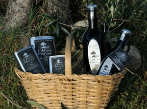 panier de la gamme huile d' olive vierge extra de Corse www.luxfood-shop.fr