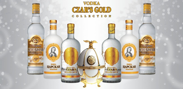 Vodka Tsarskaya Gold Collection impérial www.luxfood-shop.fr (1)