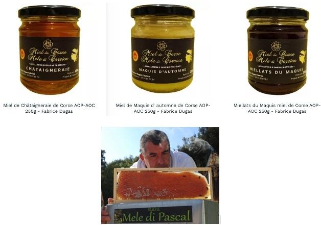 Miel de Corse AOP-AOC Fabrice Dugas www.luxfood-shop.fr