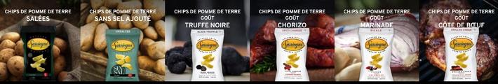 Présentation tous les chips www.luxfood-shop.fr