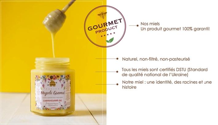 Les miels gourmet Honey brothers Les frères de Miel www.luxfood-shop.fr