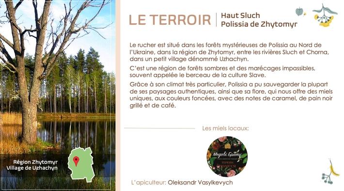 Le terroir Miels d' Ukraine Les Frères de Miels honey Brothers Haut Sluch polissia de Zhytomyr www.luxfood-shop.fr