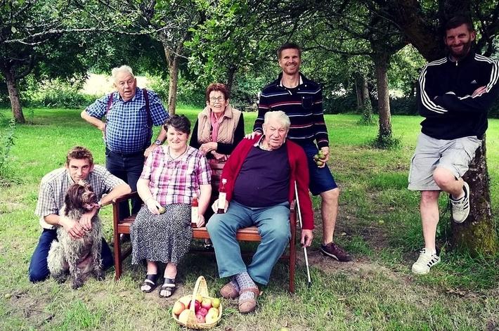 la famille hebert La Maison de la Verderie Les délices de la pomme vinaigre et condiments www.luxfood-shop.fr