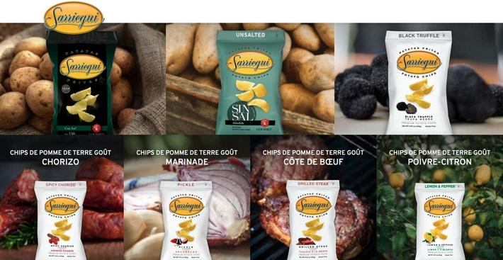 Chips Sarriegui - www.luxfood-shop.fr