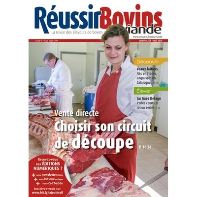 Offre spéciale - Adhérents France Conseil Elevage - Réussir Bovins viande