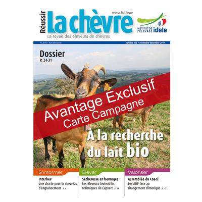 Réussir La Chèvre - Avantage exclusif carte campagne
