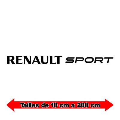 Sticker RENAULT sport ref 2