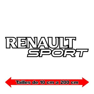 Sticker RENAULT sport ref 6