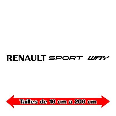Sticker RENAULT sport ref 8