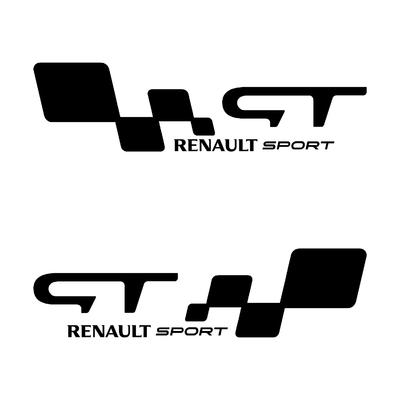 Stickers RENAULT sport ref 125
