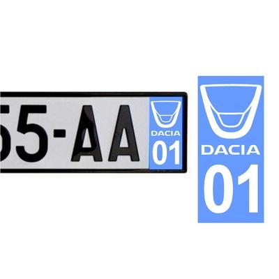 Sticker DACIA ref 42