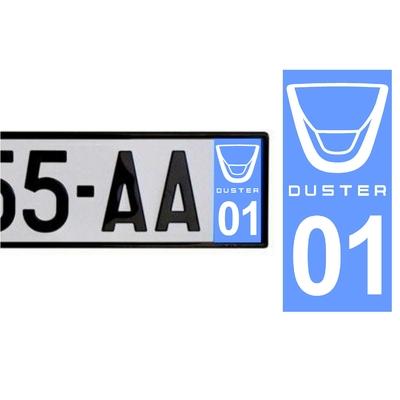 Sticker DACIA ref 43
