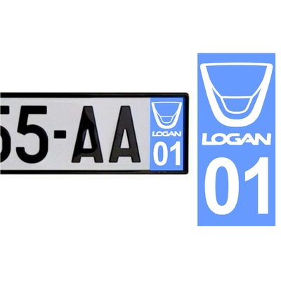 Sticker DACIA ref 44