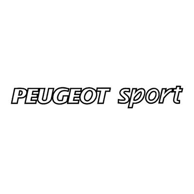 Sticker PEUGEOT sport ref 2