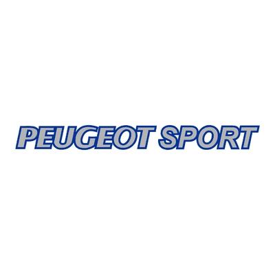 Sticker PEUGEOT sport ref 7