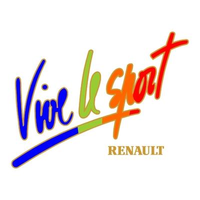 Sticker RENAULT sport ref 150