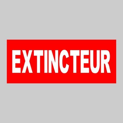 Sticker EXTINCTEUR ref 1